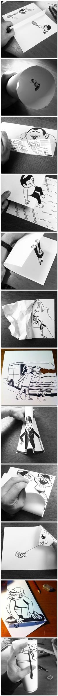 Série de dessins
