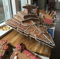 Croiseur de Star Wars en chocolat