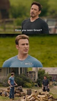 Tu as vu Groot ?