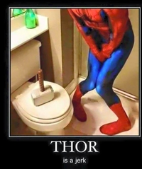 Thor est un rigolo !