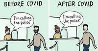 Avant et après le covid