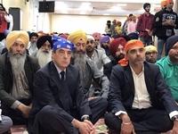 François Fillon chez les Sikhs