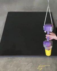 Peinture de précision avec un pendule
