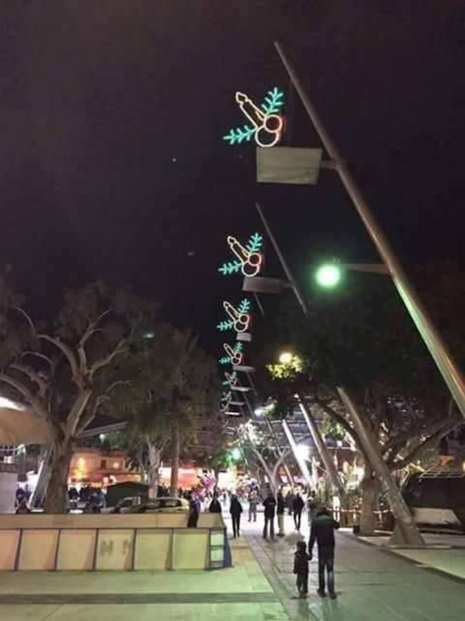 ...quelle bonne idée pour une décoration de Noël !