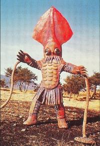 çà c'est du costume pour un grand calamar !