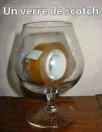 Un petit verre de Scotch ?