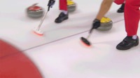 Accident au curling