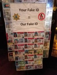 Ta fausse carte d'identité