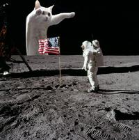 Longcat sur la Lune