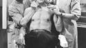 1931 : Boris Karloff au maquillage pour interpréter Frankenstein
