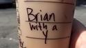 """Brian avec un """"Y"""""""