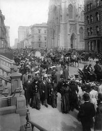Dimanche de Pâques 1906 à New-York