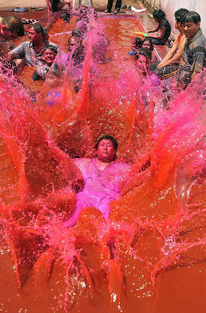 Inde, fête des couleurs