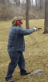 Evidemment, si c'est du 44 Magnum, ça a du recul !