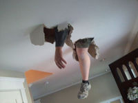 Ceiling man
