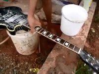 Nettoyer une guitare