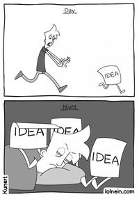 Quand avoir une idée ?