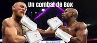 un combat de Box