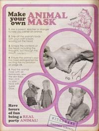 Comment faire un masque d'animal