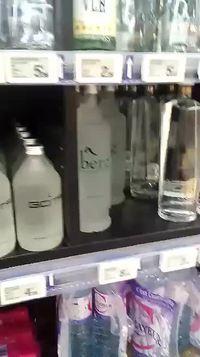 quand l'eau minérale devient un luxe
