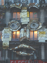 Une façade expressive