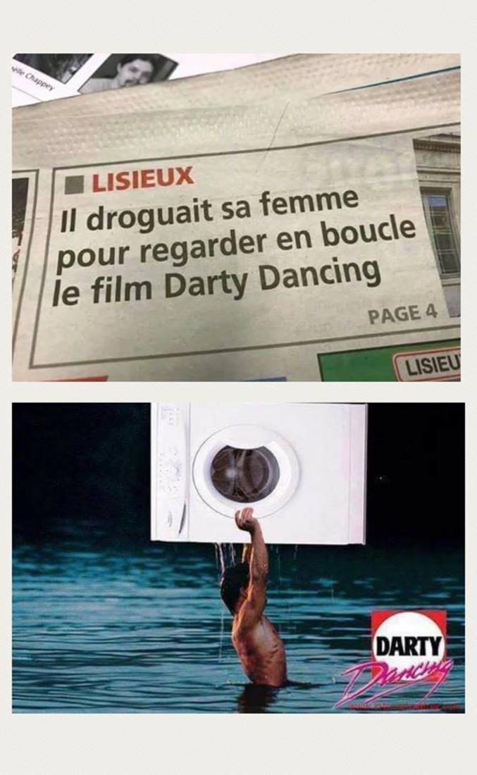 """Ou """"Dance Lessive"""" au Québec."""