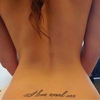 I love anal sex