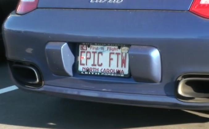Devant les locaux d'Epic Games...