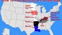 Situez le Kentucky sur la carte des USA
