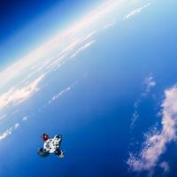 La Réunion vue de l'espace