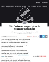 Le plus grand pirate de musique