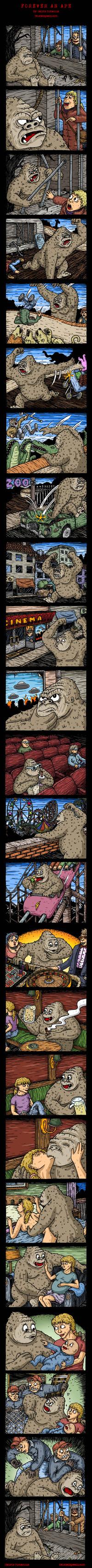 Gare au gorille !