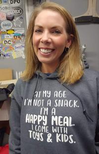 À mon âge, je ne suis pas un snack