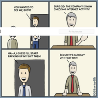 internet au boulot...