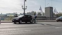 le cycliste ( une pub suisse)