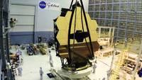 Le miroir du futur téléscope spatial James Webb