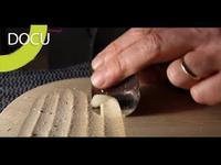 Fabrication d'un violon par un luthier