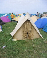 Drôle de tente
