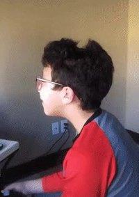 drôle de coiffure