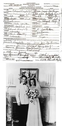 Le 1er mariage de Marilyn Monroe