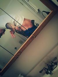 Selfie par les fesses