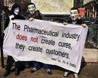 L'industrie pharmaceutique ne crée pas des remèdes...
