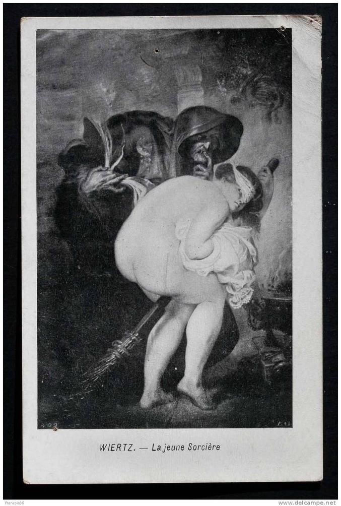 Les sabbats des sorcières étaient des événements.  ou se mélangeaient cérémonies païennes, banquets, drogue et sexe. Les onguents de belladone (plante donnant l'impression de planer) étaient appliqués sur les muqueuses, souvent à l'aide d'un morceaux de bois lisse sur lequel les femmes appliquaient la mixture, puis se frottaient l'entrejambe avec pour la faire pénétrer, or les manches à balai étant des morceaux de bois lisse, voici donc l'explication des sorcières volant sur leur balai, des femme perchées à la belladone croyant voler avec leur balai entre les jambes. Diabolisées car païennes (hérétiques au bûcher !!!)
