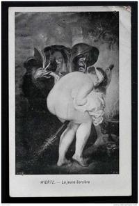 Le mythe des balais de sorcière