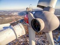 Maintenance de la pale d'une éolienne