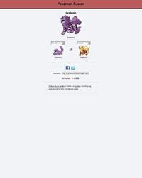 Site pour fusionner 2 pokémon de la 1G ensembles