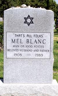 Épitaphe de Mel Blanc