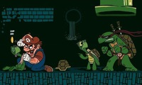 Mario vs Tortue Ninja