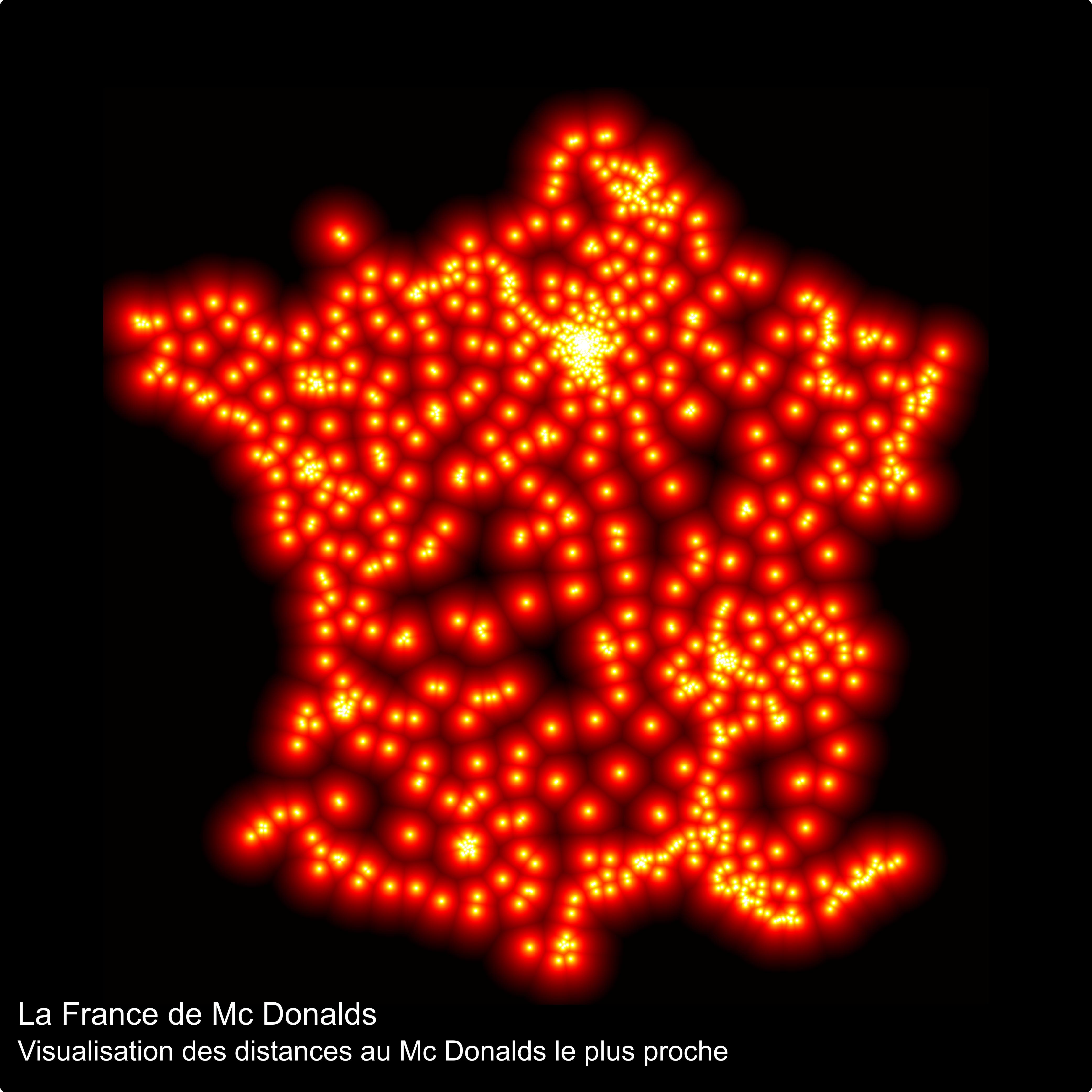 Carte Mcdonalds France.Les Mcdo En France