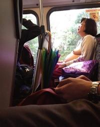 Il fait chaud dans le bus